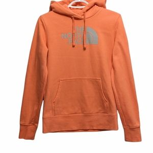 THE NORTH FACE orange hoodie size XS